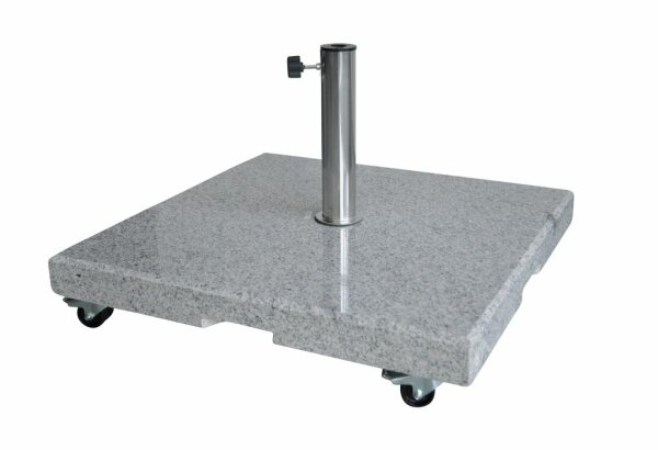 Granite base 55kg square