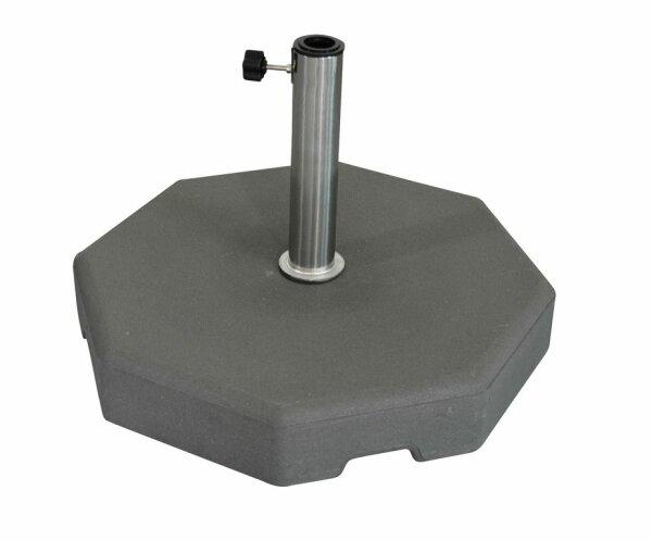 concrete base 50kg, octogonal