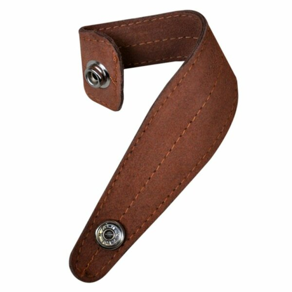 rope holder leather swatch