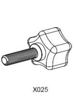 Feststellschraube M8 x 35
