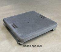 concrete base 125 kg for cantilever umbrellas