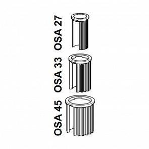Adapterset für Schirmstöcke 25-55 mm
