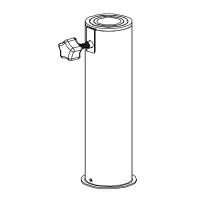 Edelstahlrohr mit Adaptern ø 25-55 mm