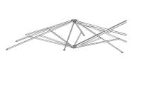 Strebensatz 300x300 quadratisch P6 P7 XL