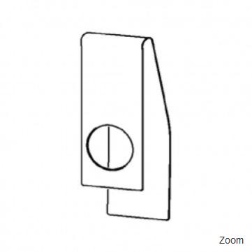 Edelstahldruckplatte für Rohr IR55