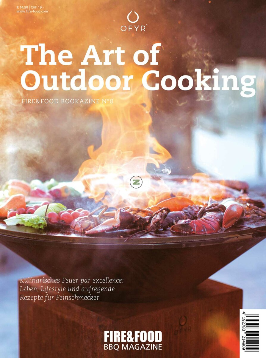 Fire&Food Bookazine No.8 The Art of Outdoorcooking