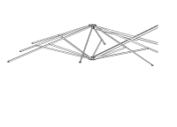 Strebensatz 250x250 quadratisch für P6 P7