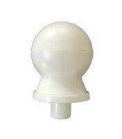 Balltop 27 mm upper pole white