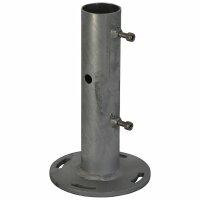 Erdrohr - Oberteil (Flansch) für Masten 48-50 mm