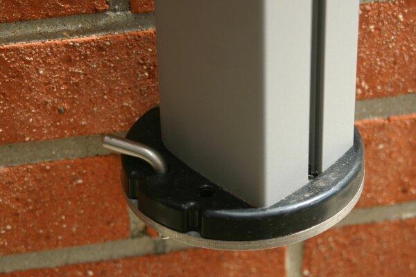wallbracket, drehbar for Singlepole P7